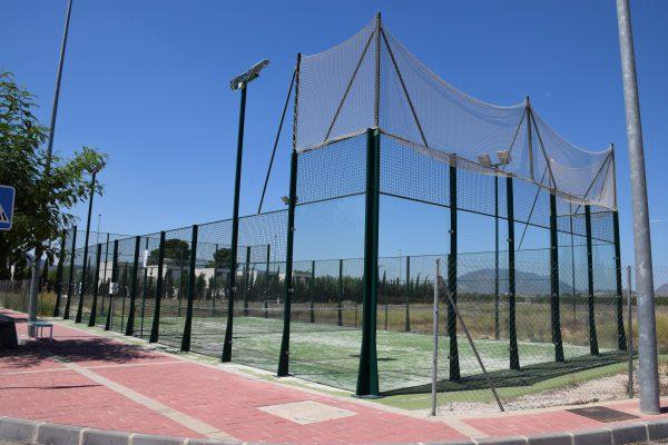 Pista de pádel de Hoya del Campo