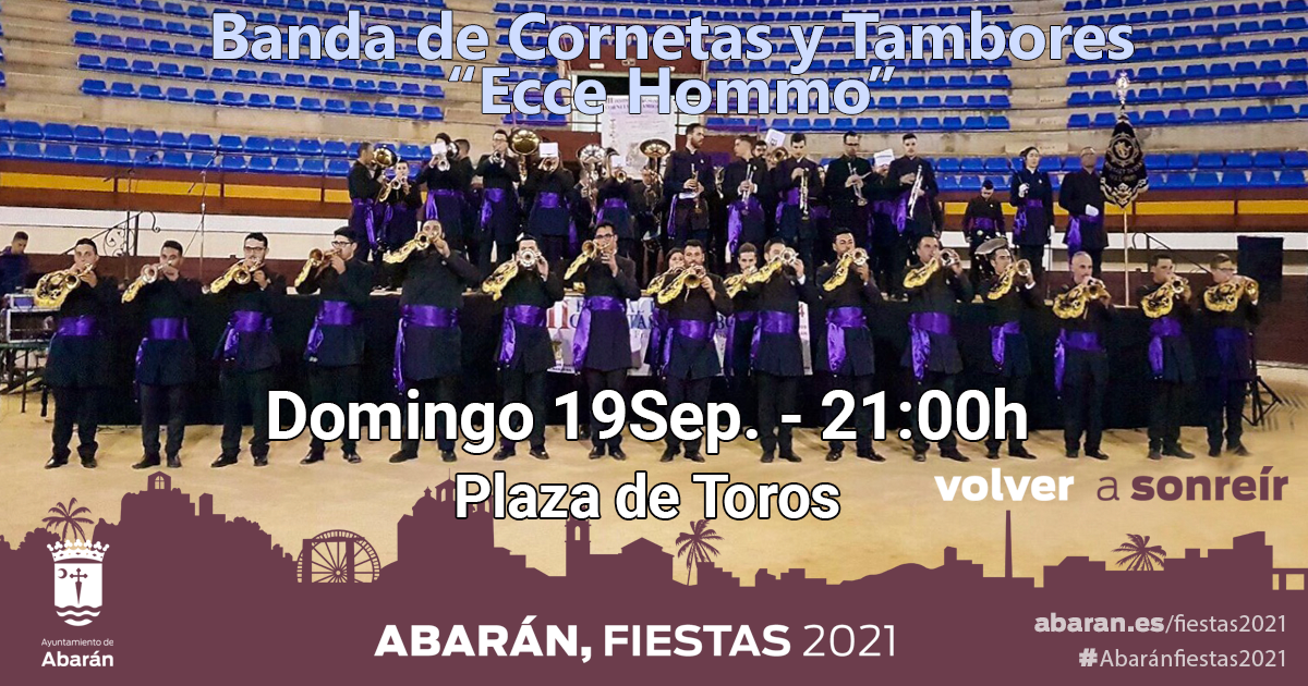 """Concierto Cornetas y Tambores """"Ecce Hommo"""""""